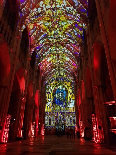 Illuminated Minster - Stained Glass