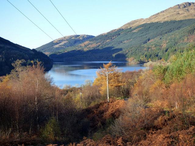 Autumn at Loch Eck