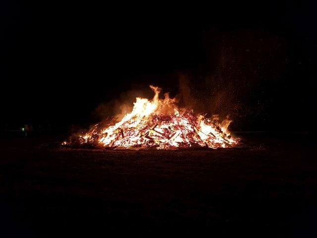 Stillington Bonfire