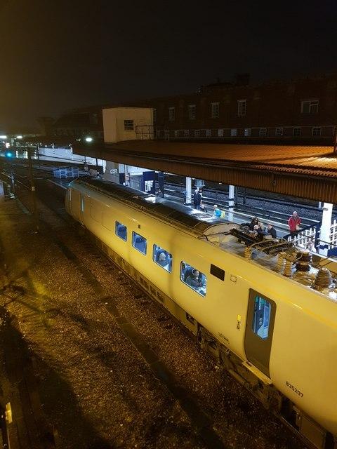 Train at Platform 11