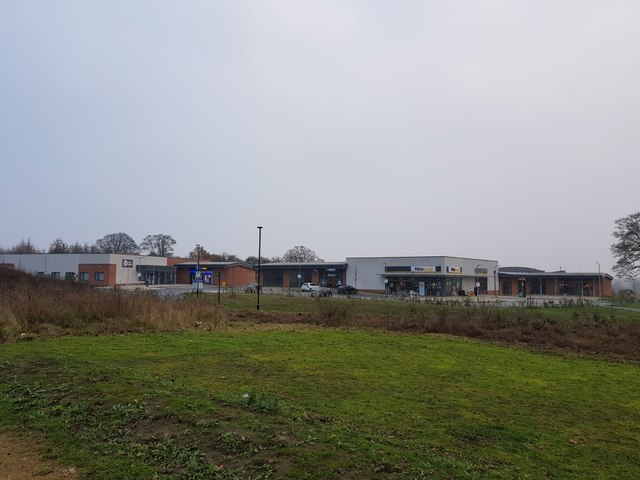 Field Lane retail units