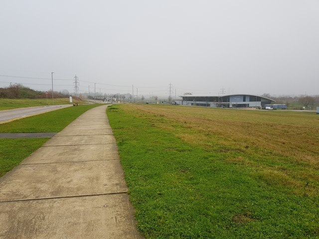 Path to the Sports Village