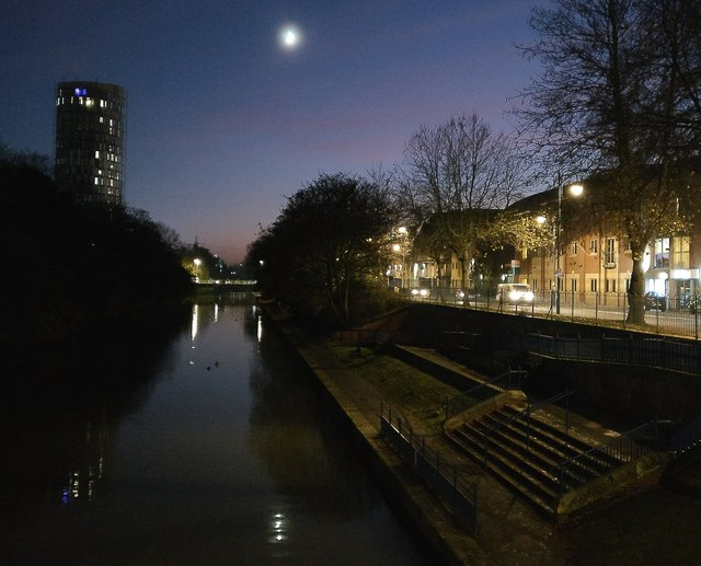Grand Union Canal in Leicester