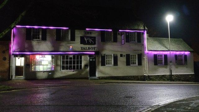 The Talbot Inn in Belgrave