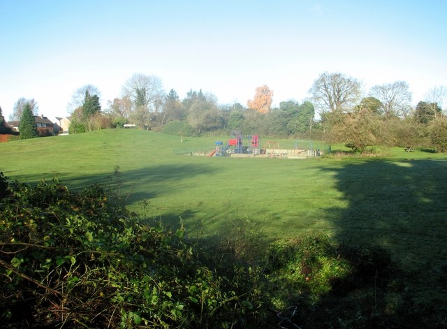 View across the Tuckswood recreation ground