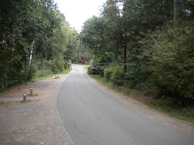 Internal roadway, Center Parcs Sherwood Forest (4)