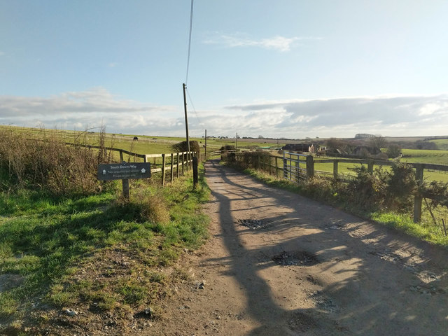 South Downs Way, towards the west