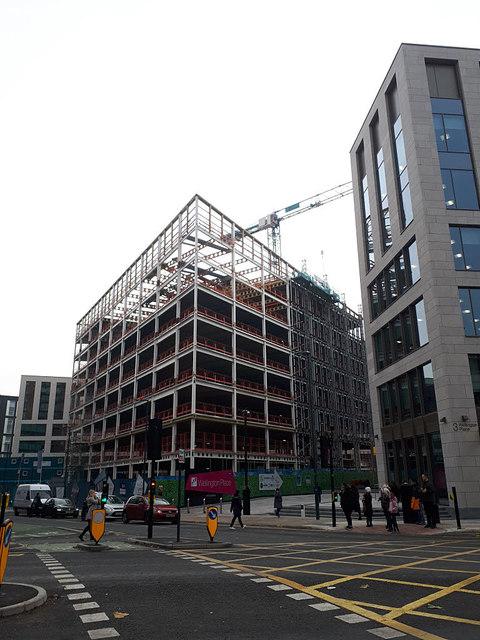 Latest development on Wellington Place