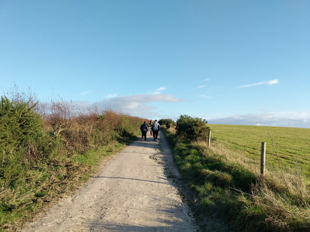 South Downs Way, heading east