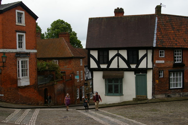 Lincoln: junction of Michaelgate and Steep Hill