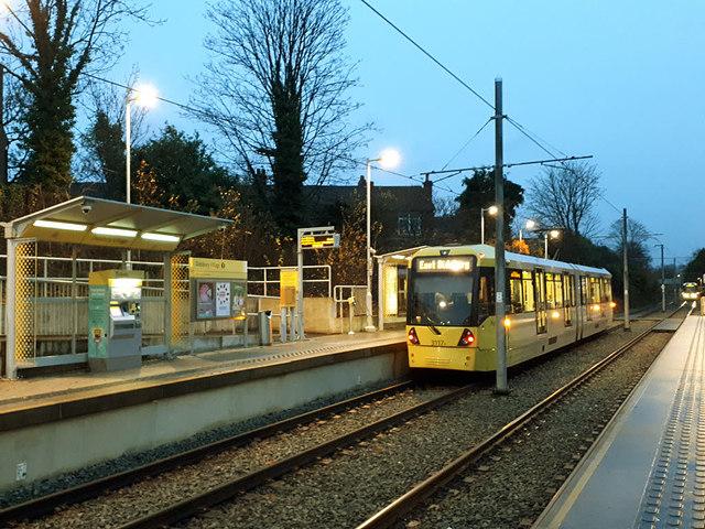 Didsbury Village tram stop