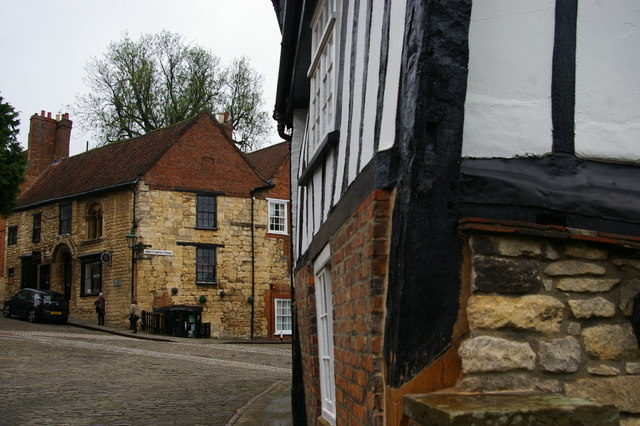 Lincoln: Steep Hill from Michaelgate