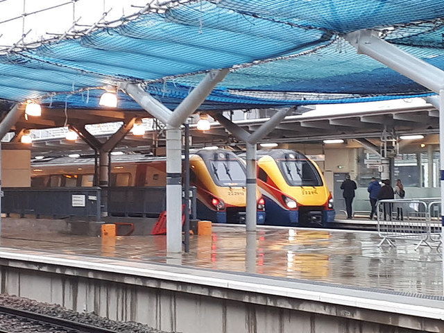 Derby station - Meridians