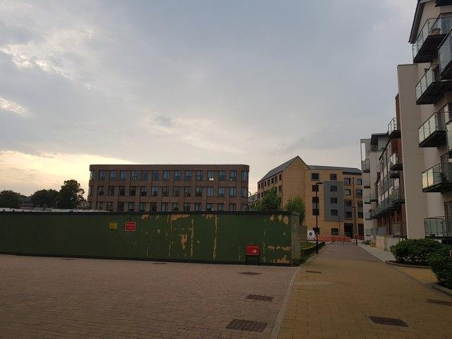 Construction at Hungate