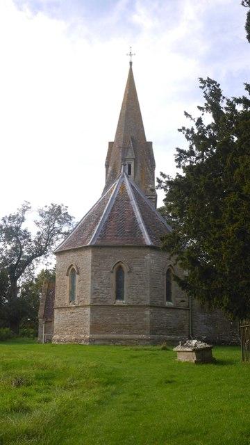 The new church, Edvin Loach