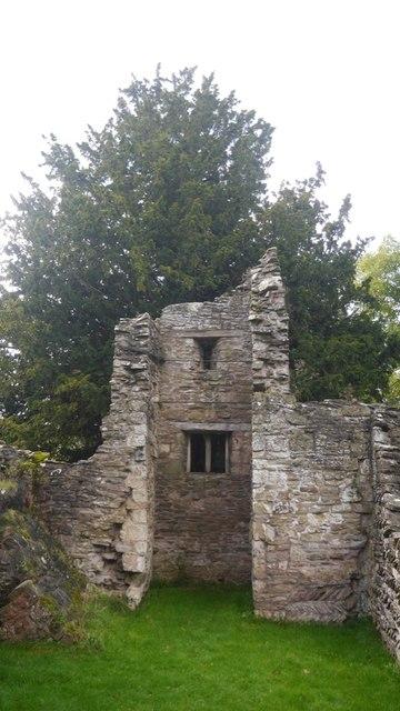 Inside the old church, Edvin Loach