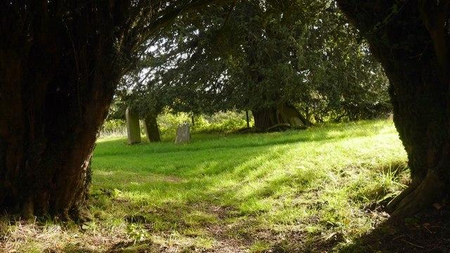 Churchyard, Edvin Loach