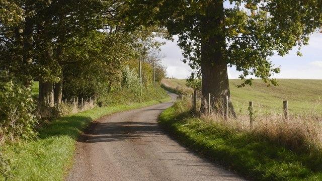 Edvin Loach to Sandy Cross road