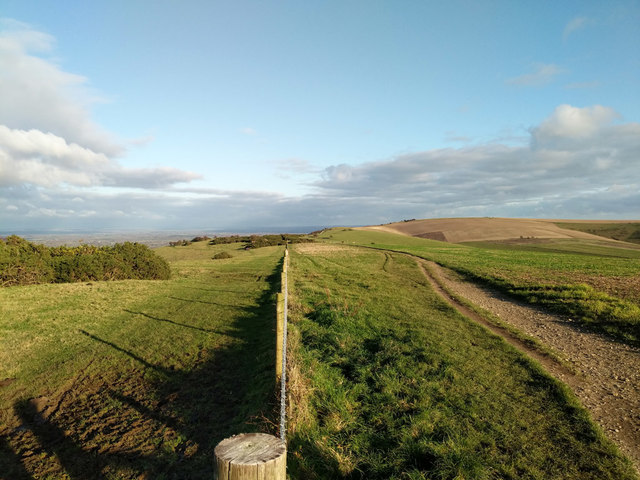 South Downs Way looking east