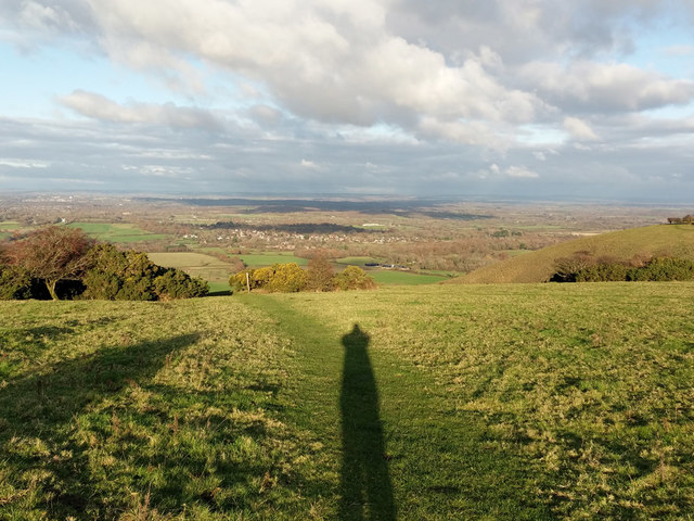 View NE from South Downs