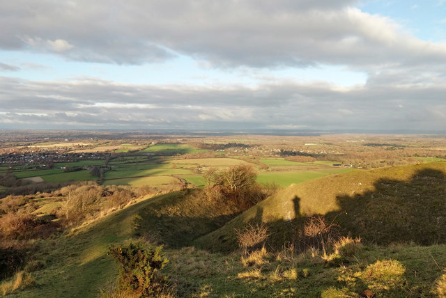 View north from South Downs