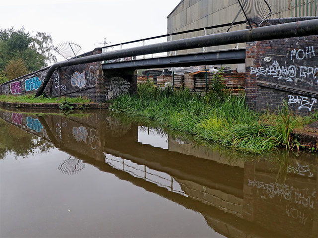 Colonial Pottery Basin Bridge in Stoke-on-Trent