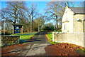 NY8893 : Entrance to Otterburn Castle by Tiger