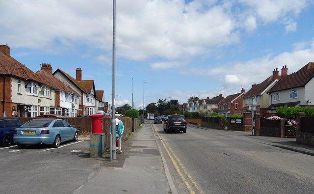 Berrow Road (B3140), Burnham-on-Sea