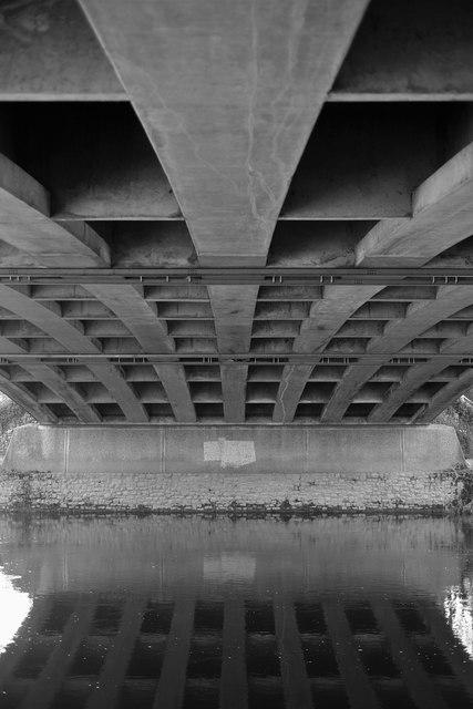 Beneath Bridstow Bridge