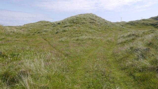 Track behind Hogh Bay