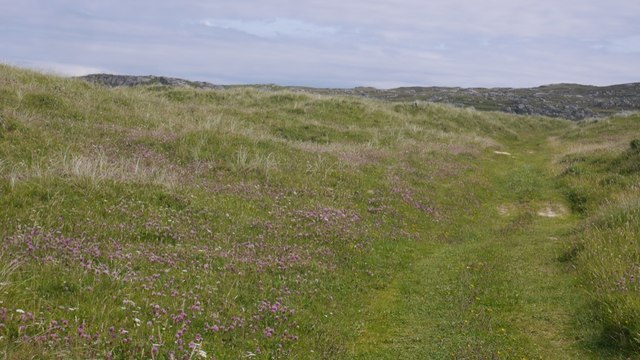 Track near Hogh Bay