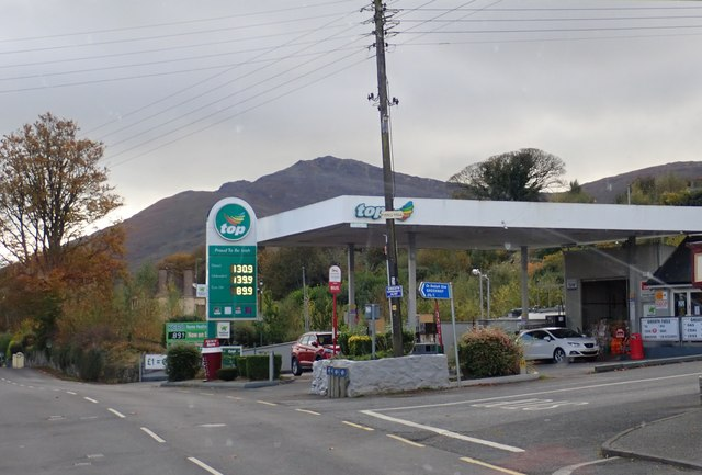 Top Filling Station, Omeath