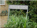 TL3994 : Cross Road sign by Adrian Cable