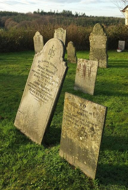 Headstones, Huntshaw
