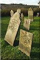 SS5022 : Headstones, Huntshaw by Derek Harper