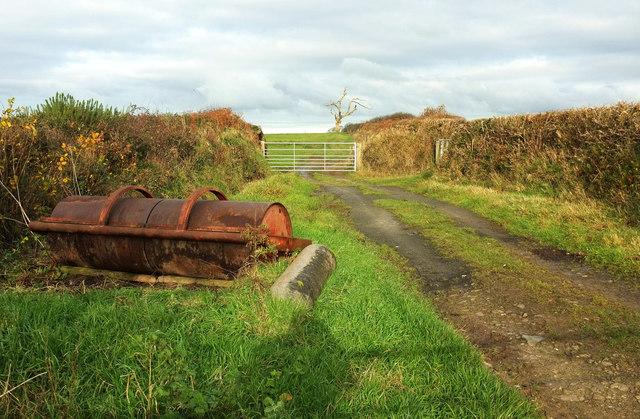 Field entrance, Haddicott Cross
