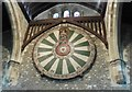 SU4729 : The Round Table, Great Hall, Winchester by Roger Cornfoot