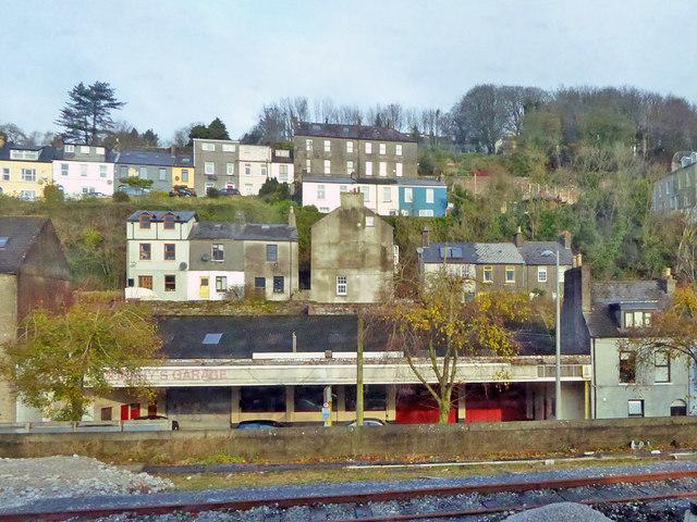 Houses on hillside above Lower Glanmire Road, Cork