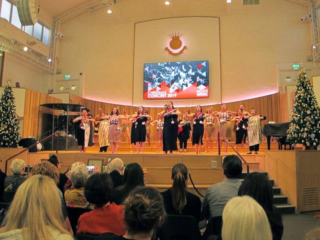 London Maori Club Christmas Concert in Salvation Army Hall
