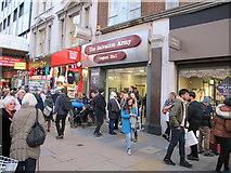 TQ2881 : Oxford Street shoppers outside Regent Hall by David Hawgood