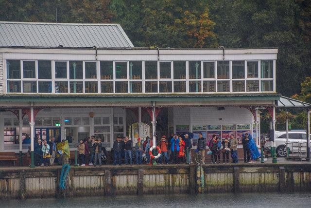 Lakeside : Lakeside Windermere Landing (Pier)