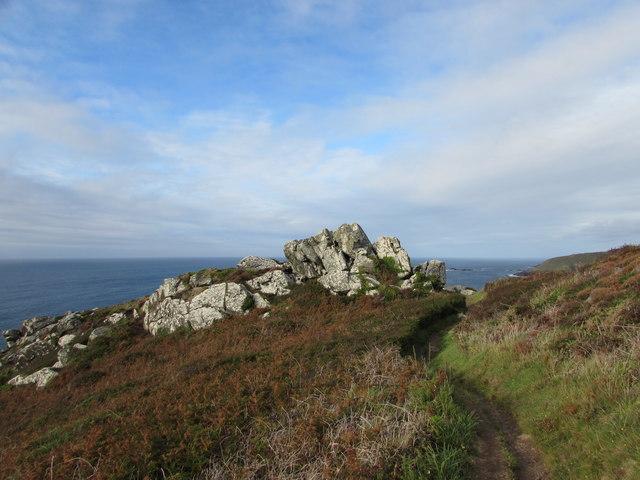 Rocks on Zennor Head