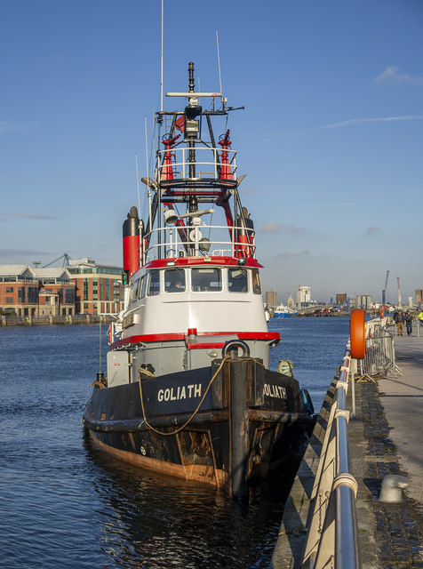 Tug 'Goliath' at Belfast