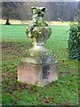 SK6464 : Rufford Abbey Country Park – urn 6 by Alan Murray-Rust