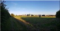 SE6350 : Heslington East from near Field Lane by DS Pugh