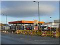 SE1837 : Sainsbury's filling station, Harrogate Road, Greengates by Stephen Craven