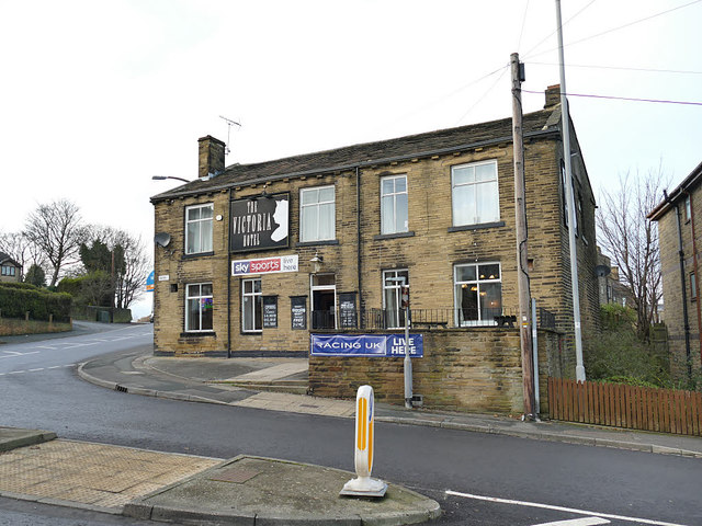 The Victoria Hotel, Bank Top, Eccleshill