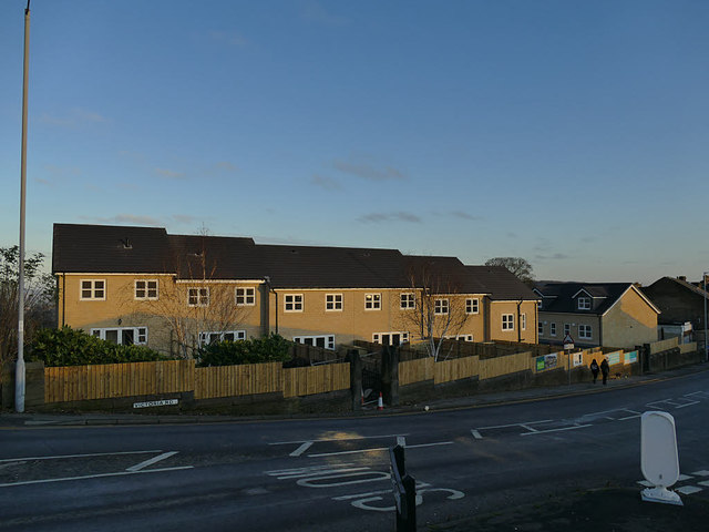 New housing, Victoria  Road, Eccleshill