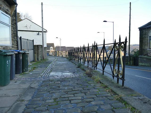 Raised pavement, Stony Lane, Eccleshill