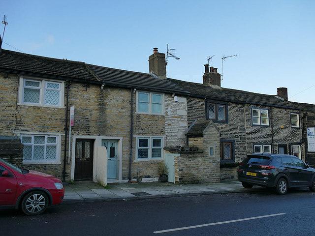 Cottages on Stony Lane, Eccleshill